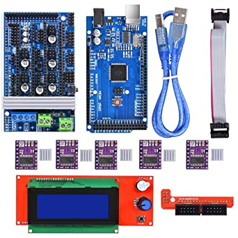 BIQU Mega2560 Placa de control + LCD 2004Graphic Smart Display ...