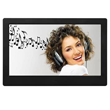 Amazon.com: 7 Inch Digital Photo Frame IPS Electronic Picture Frame ...