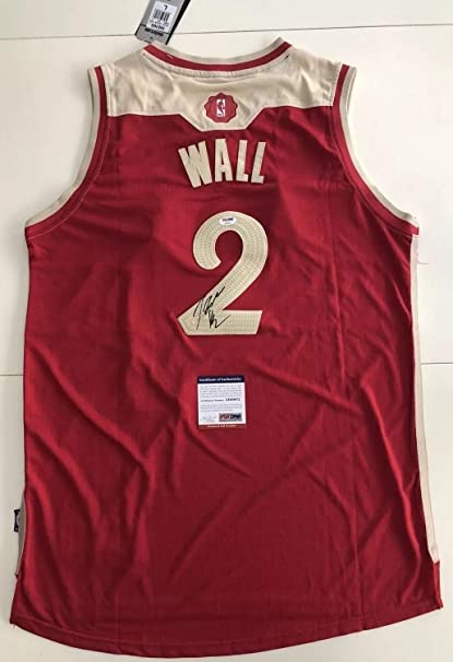 best sneakers 38eb7 7fe58 John Wall Autographed Signed Washington Wizards Jersey ...