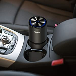 Tdbest Portable Car Ionizer Air Purifier