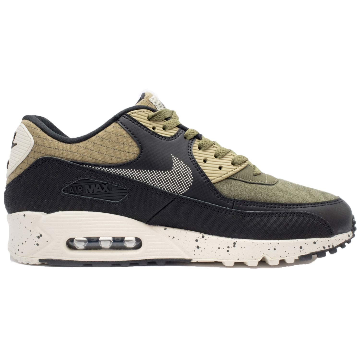 Galleon - NIKE Men s Air Max 90 Premium Neutral Olive 700155-203 ... 04a8e1164