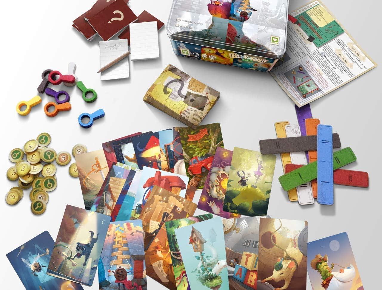 Extended Play Detective Club, Multicolor (Blockrock Games 8437015821719): Amazon.es: Juguetes y juegos