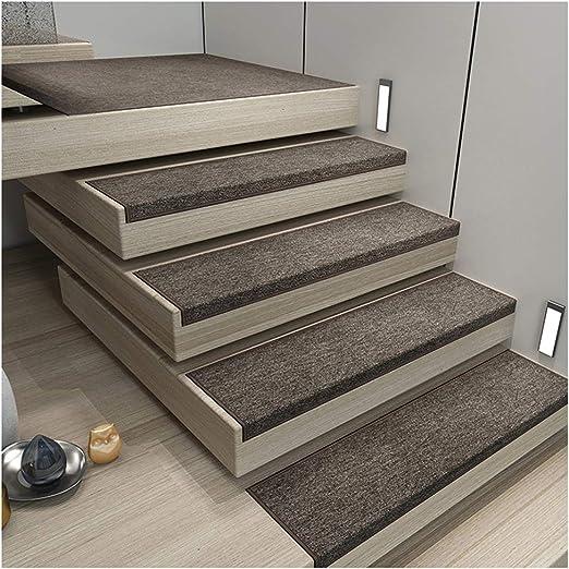 Zengai Treppe Stufenmatten Stufenmatten Treppen Teppich Teppich Treppenstufen Runner Rug Pad Treppenauflage Im Europaischen Stil 4 Farben 5 Stuck Treppen Teppich Amazon De Kuche Haushalt