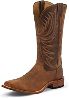 product image for Tony Lama Mens Bingham Sq Toe Cognac Boots