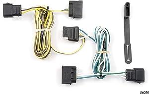 CURT 56020 Vehicle-Side Custom 4-Pin Trailer Wiring Harness for Select Ford E-Series E-150, E-250, E-350