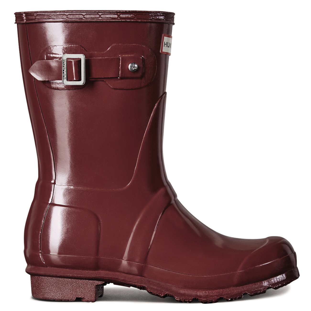 Women's Hunter Snow Boots Original Short Gloss Snow Hunter Rain Boots Water Boots Unisex 5-10 B00WPT00HC 6 B(M) US|Damaszenerpflaume 2ce341