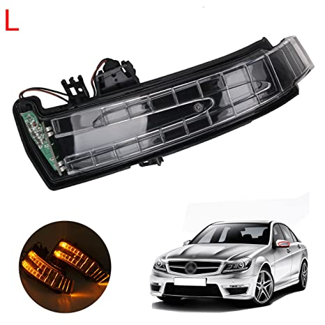 Left Door Side Rear View Mirror Turn Signal Light For Mercedes-Benz W212  W204 W221 Driver side