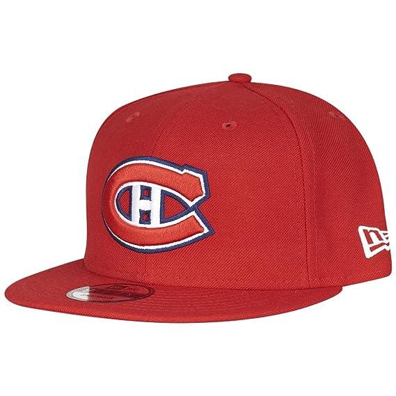 059f26e2f85 New Era NHL Montreal Canadiens Scarlet Snapback Cap Kappe 9fifty 950  Basecap Men  Amazon.co.uk  Clothing