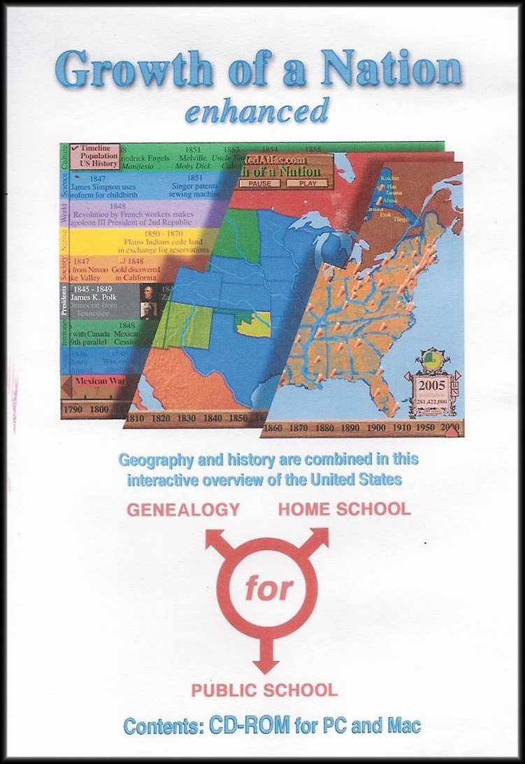 Growth Nation Enhanced Geography Interactive product image