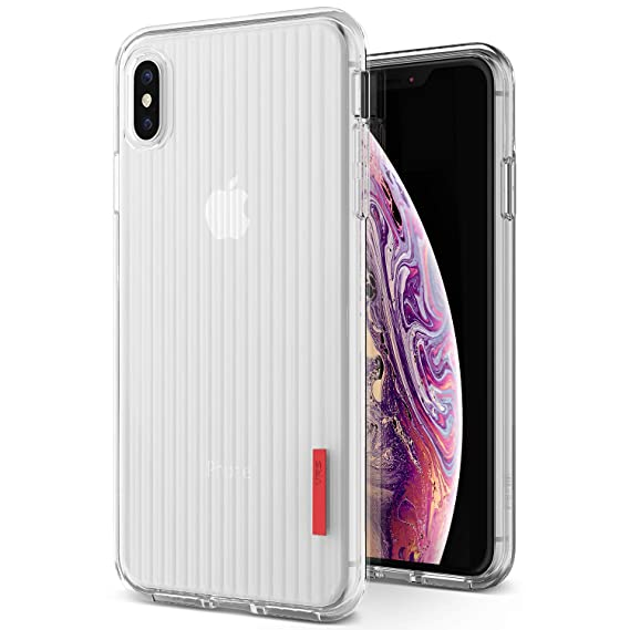 Amazon Com Iphone Xs Max Case Vrs Design Clear Slim Full Body