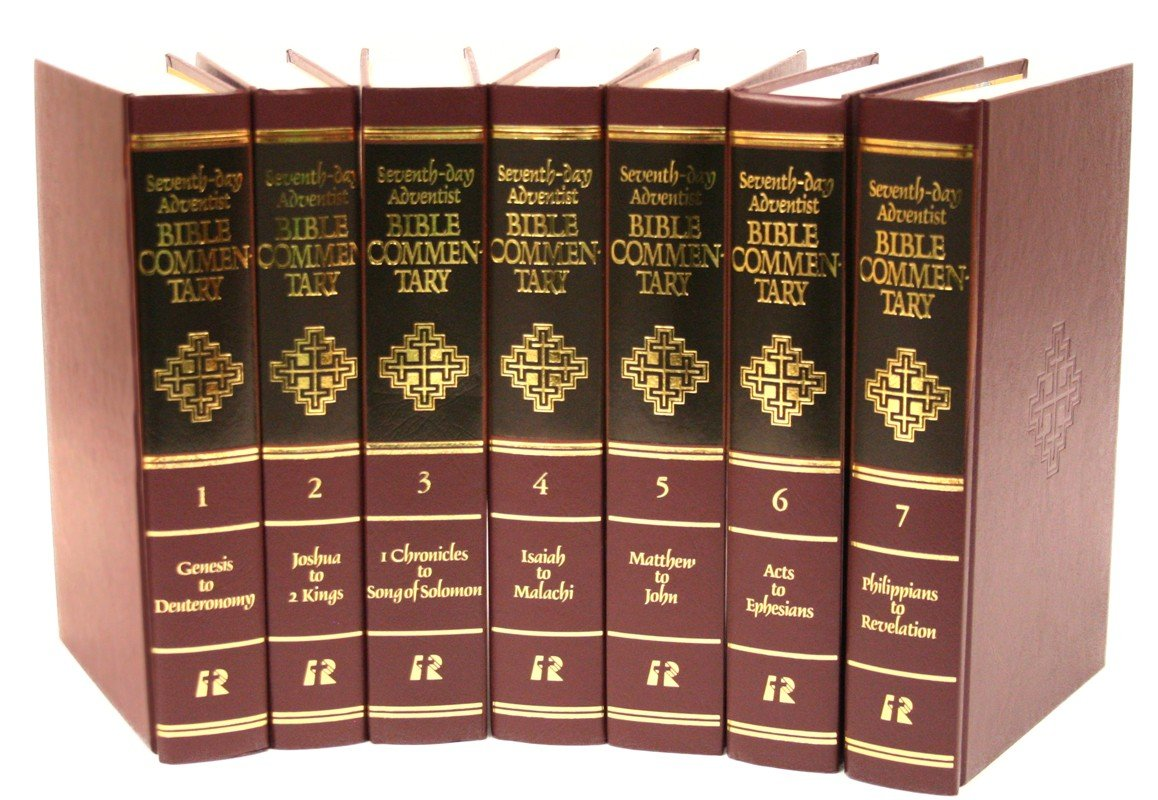 Seventh Day Adventist Bible Commentary 8 Vol Set 1:Genesis-Deut, 2