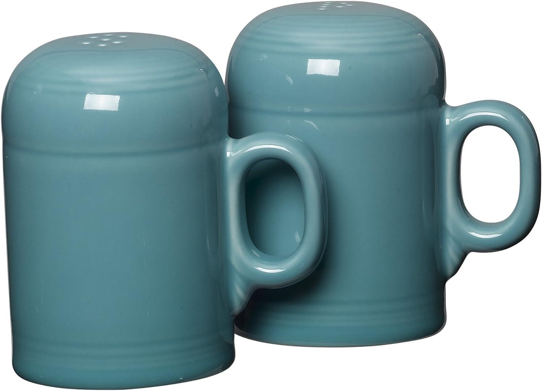 Fiesta Rangetop Salt and Pepper Set, Turquoise