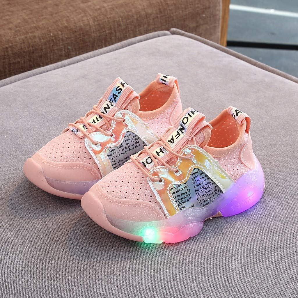 21EU-30EU 1-6 Jahre Licht Turnschuhe Leuchtend Blinkschuhe Sportschuhe Allence Baby Kinderschuhe LED M/ädchen Jungen
