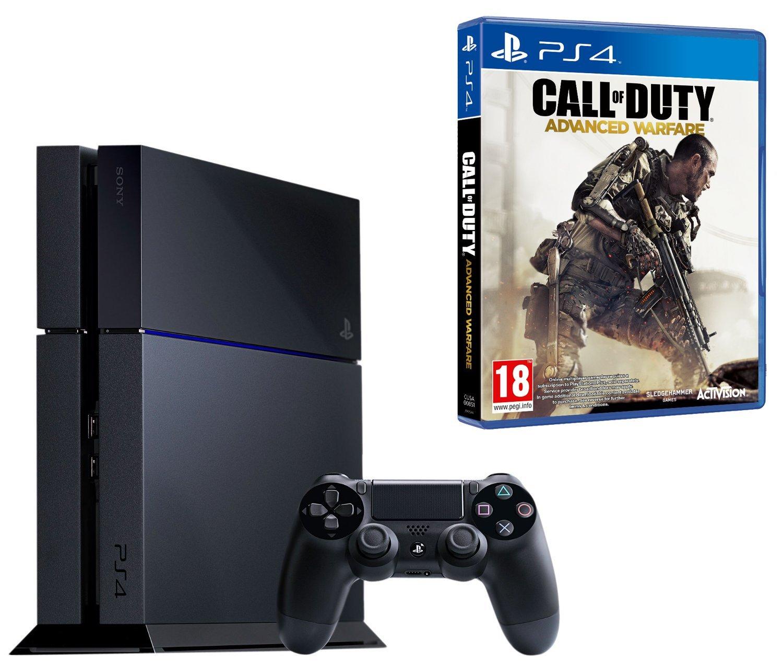 Sony PS4 Console with Call of Duty Advanced Warfare (PS4) [Importación Inglesa]: Amazon.es: Videojuegos