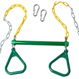 Merveilleux Trapeze Bar With Rings For Swing Set U2013 Outdoor Playground Equipment Swing  Bar