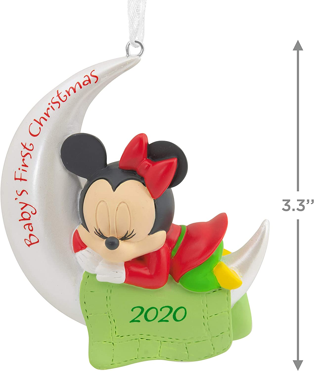 Babys First Christmas Ornament Disney 2020 Amazon.com: Hallmark Ornament 2020 Year Dated, Disney Minnie Mouse