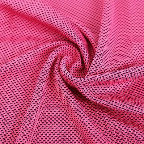 Wagsiyi Toalla de Fibra Toalla de plástico embellecida plástica de la Toalla del Hielo de la
