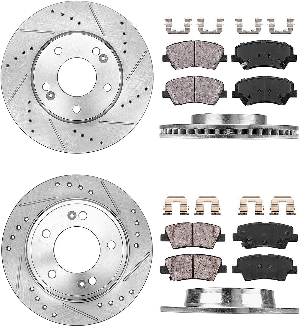 Pads For Hyundai Elantra Elantra Coupe Front Brake Rotors Elantra GT