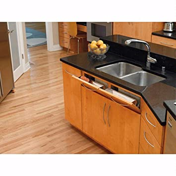 Charming Rev A Shelf 6581 Series   Sink Front Tip Out Trays Stainless