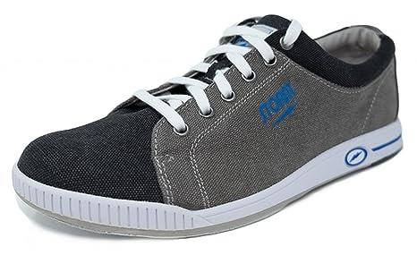 new style 6fb81 3df7e Storm Gust grau/schwarz/blau Bowlingschuhe für Herren und ...