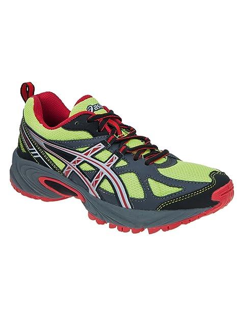 Asics - Zapatillas De Running para niños, Color Verde, Talla 33: Amazon.es: Zapatos y complementos