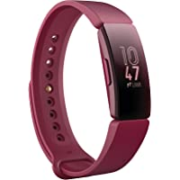 Fitbit Fitbit Inspire Fitness Tracker, Sangria, One Size (s & L Bands Included)