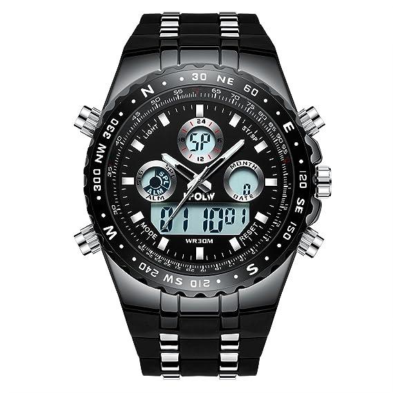 Herrenuhren Uhren Frank 2019 Luxus Marke Herren Sport Uhren Digital Led Military Uhr Männer Mode Casual Elektronik Armbanduhren Uhren