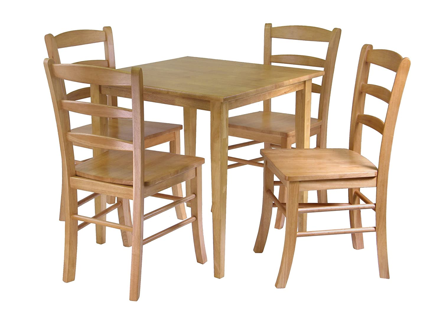 amazoncom  winsome groveland square dining table with  chairs piece table  chair sets. amazoncom  winsome groveland square dining table with  chairs