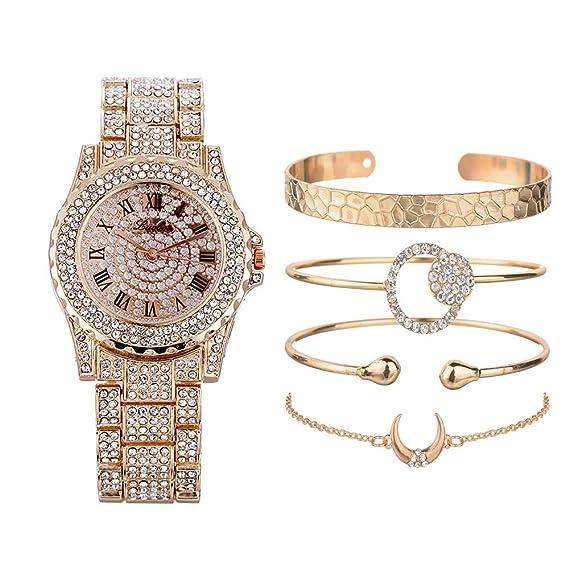 Pulsera de Reloj de Traje de Mujer, Exquisita decoración de ...