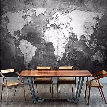 Weaeo Murales En 3d Grandes Mapamundi Murales De Cemento Foto Mural