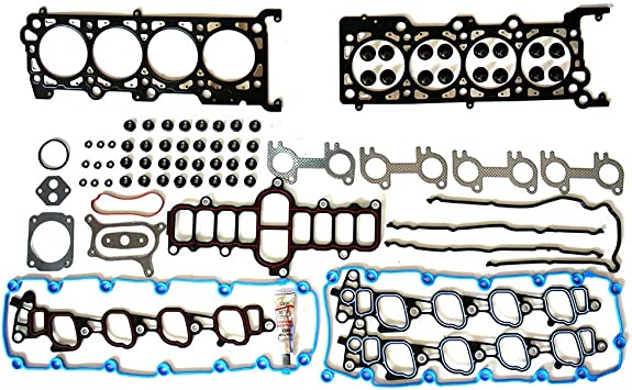 ECCPP Replacement for Head Gasket Set for 03 04 05 06 07 08 09 10 Ford E-350 Club Wagon E-450 Super Duty F-250 F-350 F-450 Ford F-550 Super Duty Excursion 6.0L Head Gaskets Kit HSU26734 26374PT