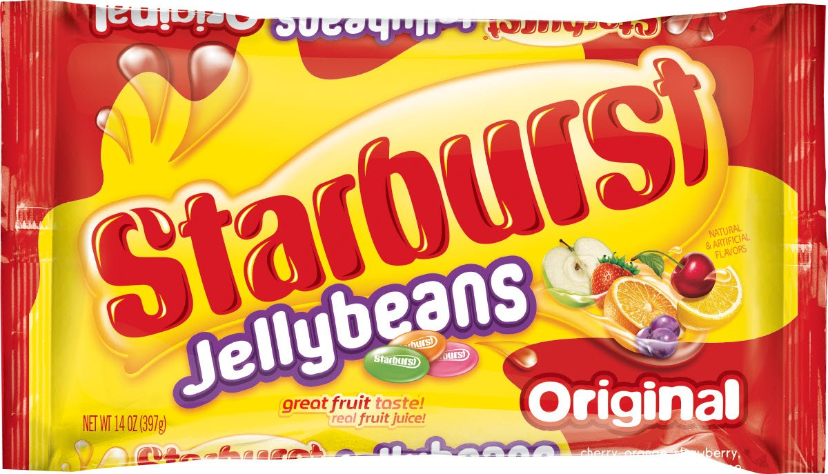 STARBURST Original Jelly Beans Candy, 14-Ounce Bag