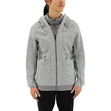 adidas outdoor Women's Nuvic Hybrid Jacket 2 Medium Grey