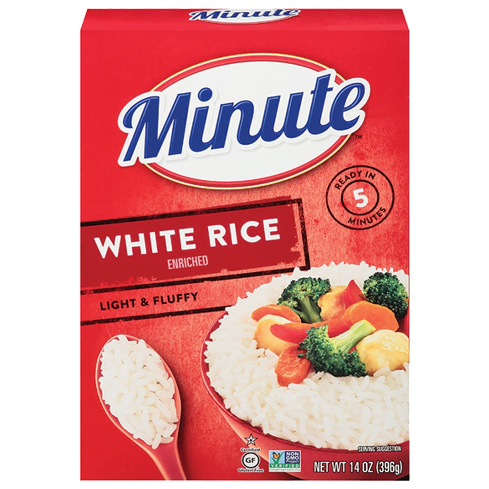 Minute Instant White Rice, 14 oz
