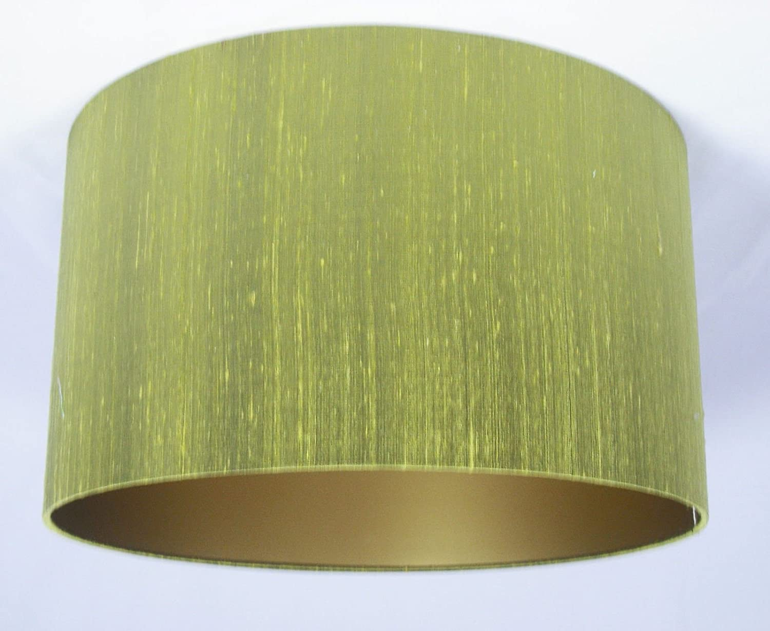 16 lampshade handmade in uk lime green silk with a gold lining 16 lampshade handmade in uk lime green silk with a gold lining amazon lighting mozeypictures