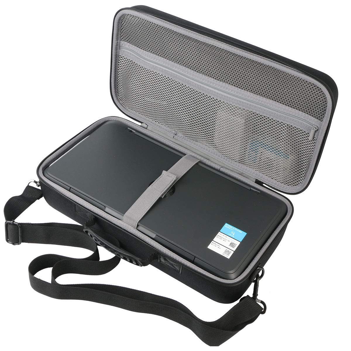 co2crea Hard Travel Case for HP OfficeJet 200 Portable Printer with Wireless Mobile Printing (CZ993A) by Co2Crea