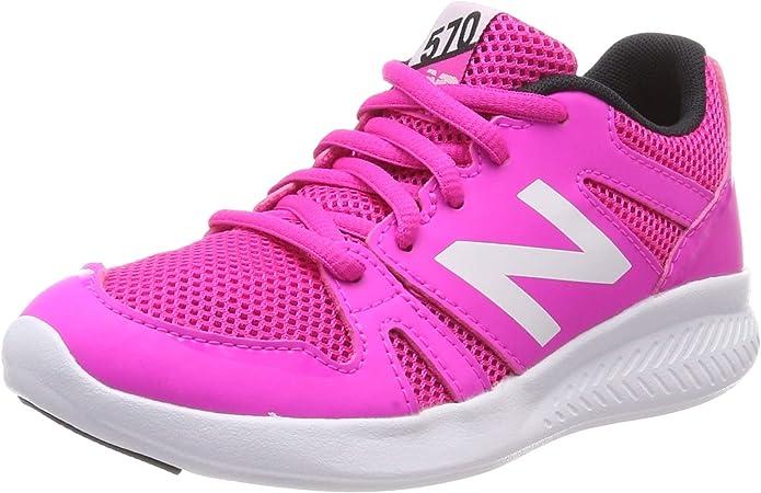 New Balance 570, Zapatillas Deportivas para Interior Unisex Niños, Rosa (Pink/White Pink), 20 EU: Amazon.es: Zapatos y complementos