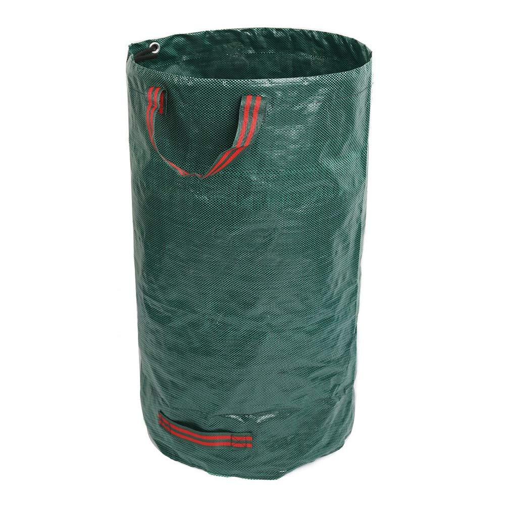 PP Garden Leaf Bag Can Be Reused Courtyard Leaf Bag Environmental Garbage Bag 120L by Cherlvy