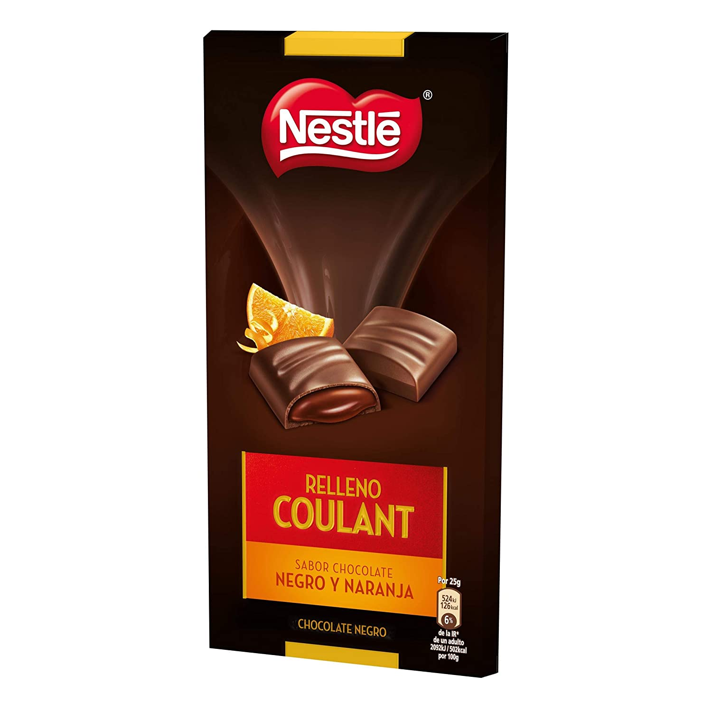 Nestlé Relleno Coulant Orange Chocolate negro y Naranja - Paquete de tabletas chocolate 16x150g - Total: 2.4 kg: Amazon.es: Alimentación y bebidas