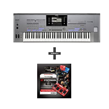 YAMAHA TYROS 5 76 KEYS + EXPANSION KIT: Amazon co uk: Musical