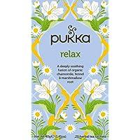 Pukka Relax Herbal Tea Bags, 20 Count, 2 Grams