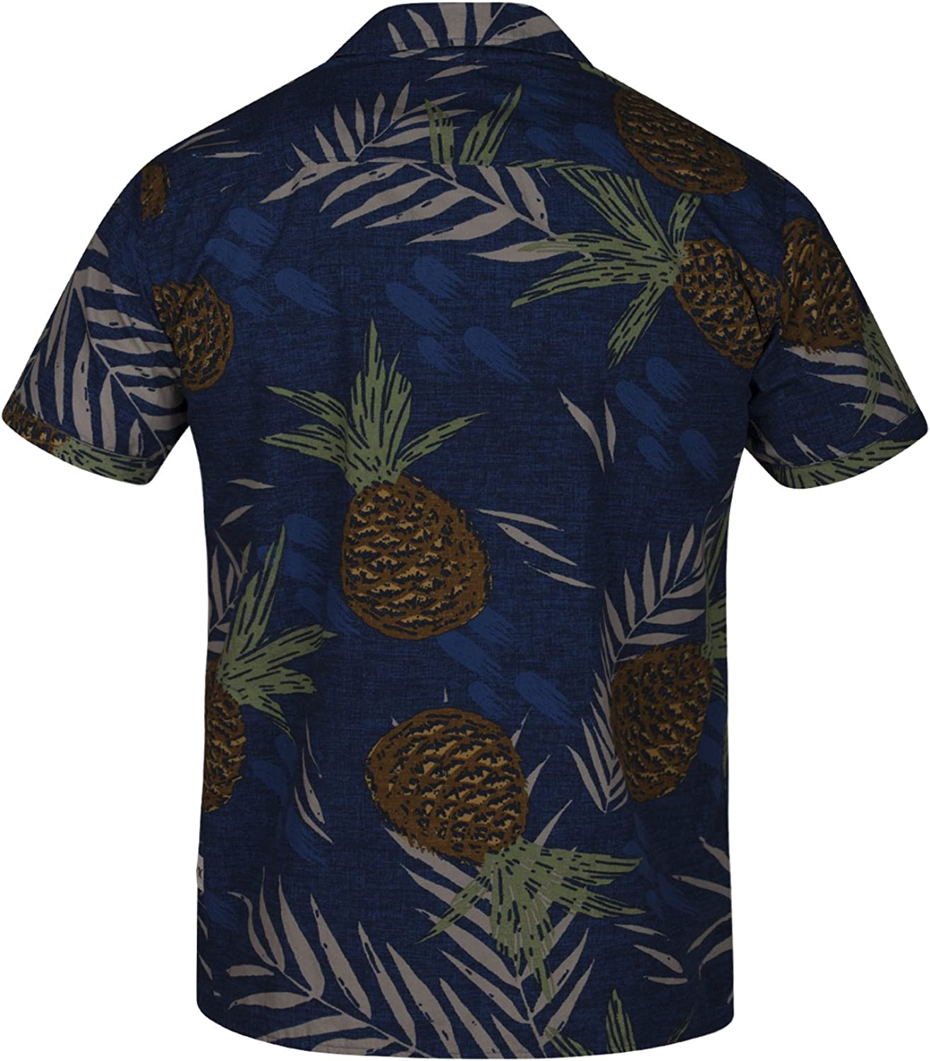 Hurley Mens Toucan Short Sleeve Woven