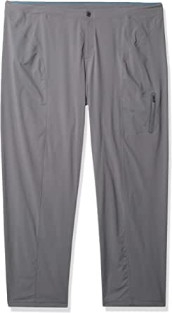 Columbia Women's Just Right Straight Leg Pant, Water & Stain Resistant, City Grey, 2 Short