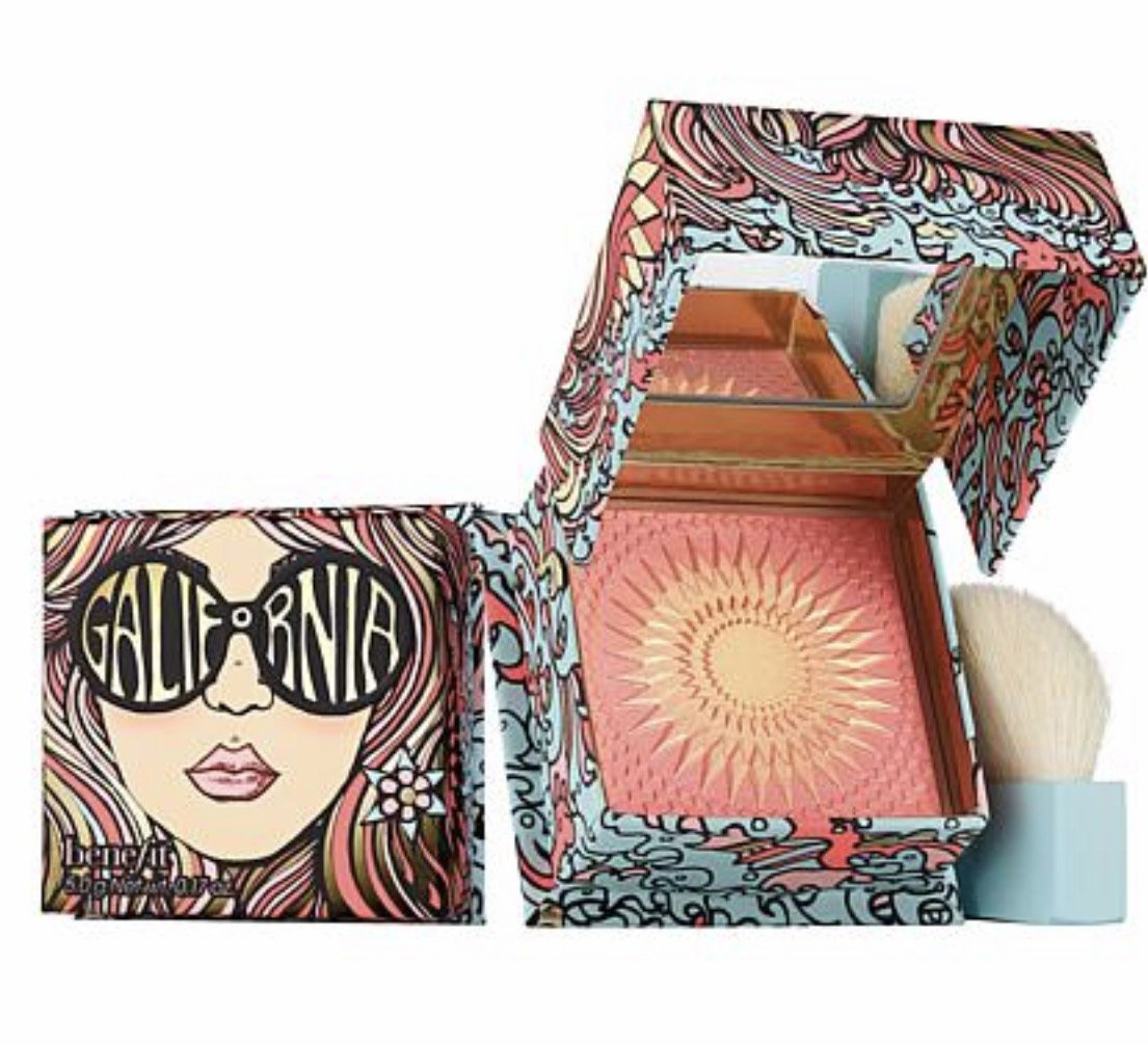 Benefit Cosmetics GALifornia Sunny Golden Pink Blush 0.17 oz