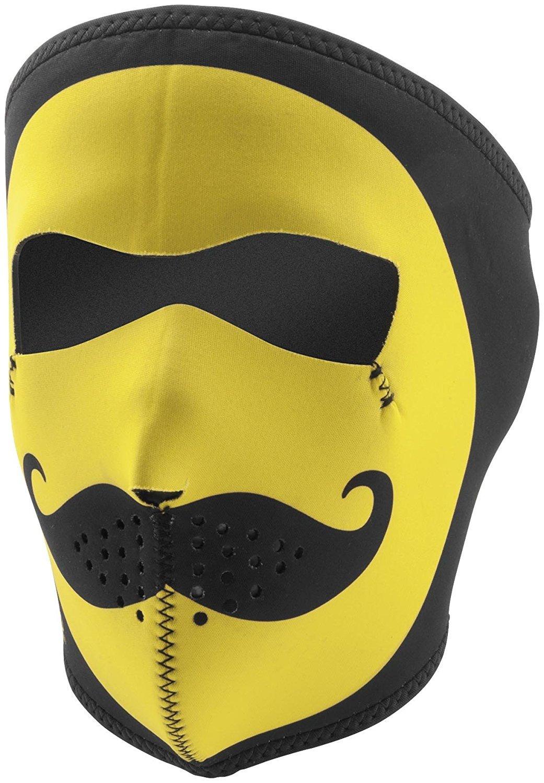 New Product Zan Headgear Full Mask, Neoprene, Mo Happy