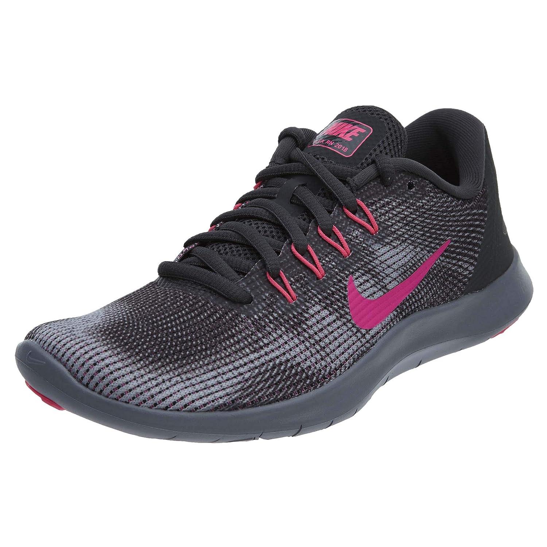 Anthracite Hyper Pink Wolf Grey Nike Men's Flex 2018 Rn Running shoes