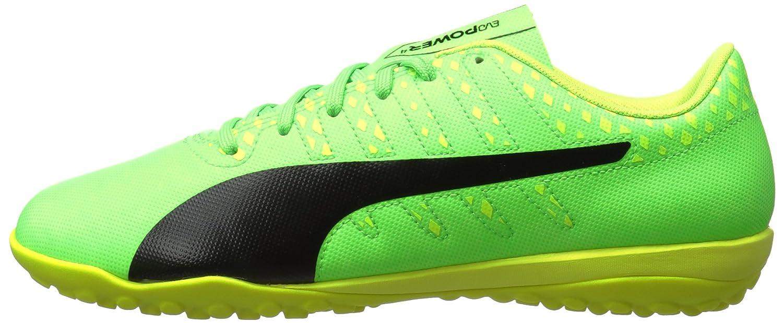 Puma Men's EvoPower Vigor 4 TT Soccer Soccer Soccer schuhe, Grün Gecko-Puma schwarz-Safety Gelb, 11 M US 91ae8c