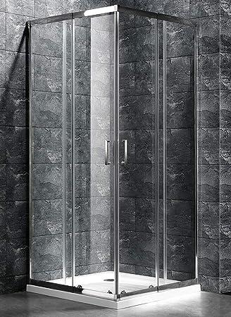 Lado cabina ducha Niky extensibilidad 78 – 88 cm cristal ...