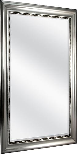 MCS 24×36 Inch Beaded Rectangular Wall Mirror