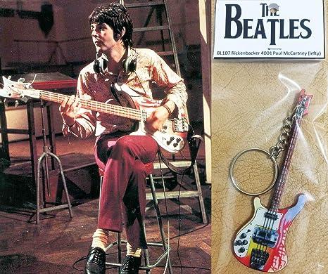 Llavero de bajo de guitarra Rickenbacker 4001 Paul Mccartney ...